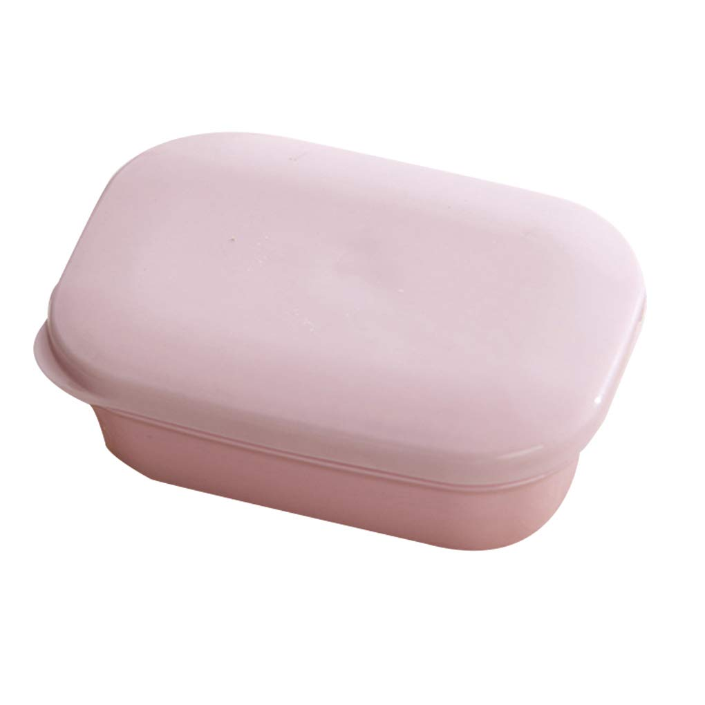 OmkuwlQ Portable Travel Handmade Soap Box Drain Bathroom Case Waterproof Leakproof Mini Plastic Holder by OmkuwlQ (Image #4)