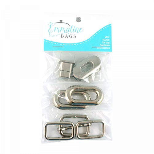 (Spring Sling Hardware Kit for Emmaline Bags Pattern EMMB-103 (Nickel))
