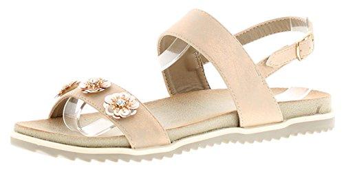 Gluv Emelia Womens Comfort Sandals Pink - Pink - UK Sizes 3-8