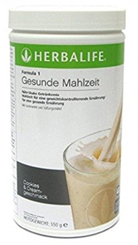 - Herbalife Formula 1 Healthy Meal Nutritional Shake Mix (10 Flavor) (Cookies 'n Cream)