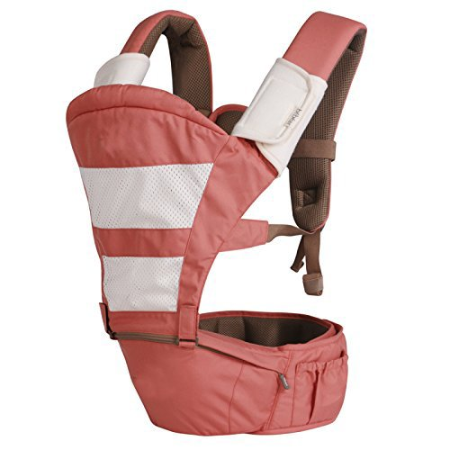 Baby Carrier Multifunctional Backpack Sling (Pink) - 1