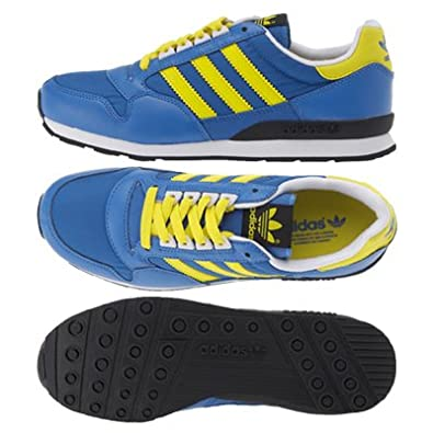 innovative design 32fb5 2083e adidas Originals ZX 500 J Blue/Yellow / White Children Kids ...