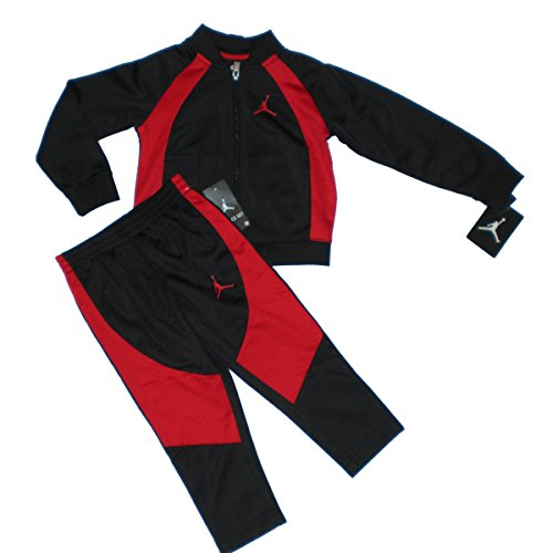 (Nike Jordan Jumpman Toddler Jacket Tracksuit Pants Outfit Set, Size 2T)
