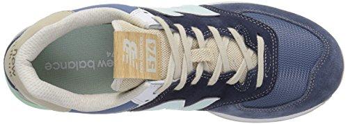 grün Azul 574v2 Hombre Para weiss New Zapatillas Balance blau S8qxp