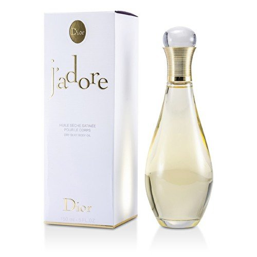 Christian Dior J'Adore Dry Silky Body Oil for Women, 5 Ounce