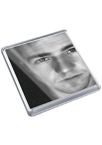 EDWARD NORTON - Original Art Coaster #js001 (Best Of Edward Norton)