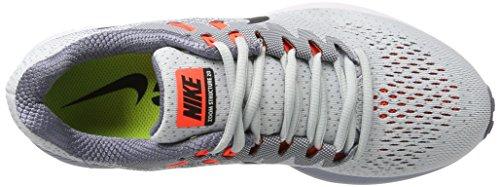 Nike Mens Air Zoom Structure 20 Running Shoe Pure Platinum/Black Fz4aEI7q