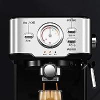 LTLWSH Cafetera Espresso, con Filtro de Agua 1050 W de Potencia ...