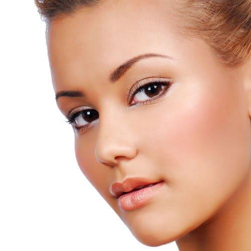 "Mineral Makeup Samples Set with 5 piece Black Brush Kit. ""MEDIUM"" Shade Natural Makeup. IQ Natural make up brand."