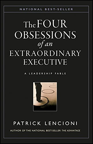 Pdf Business The Four Obsessions of an Extraordinary Executive: A Leadership Fable