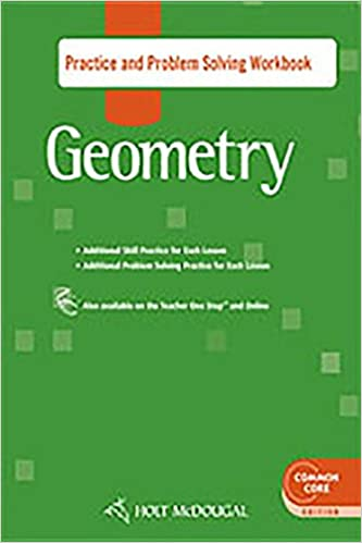 Amazon Com Holt Mcdougal Geometry Practice And Problem Solving Workbook 9780547710006 Books
