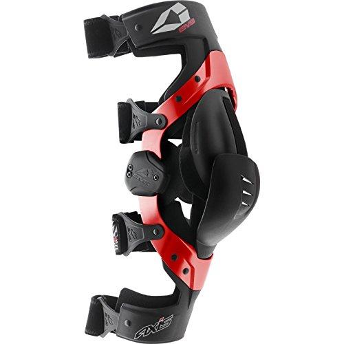 EVS 3238 Kniebandage Schwarz Rot Größe L