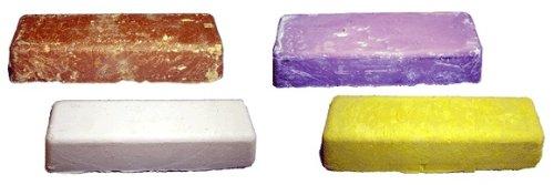 Polishing Compound 1 lb bar (High Shine / Tripoli) (Pink High Shine)