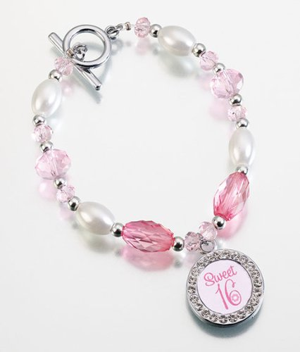 Lillian Rose Sweet Sixteen Theme Party Birthday Girl Bracelet (Themes For A Sweet 16)