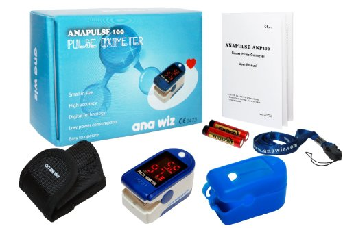 anapulse Finger Pulsoximeter mit LED Display