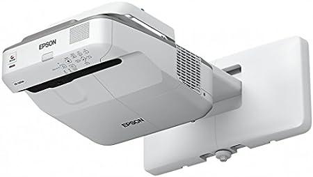 Epson Eb 680 3lcd Xga Ultrakurzdistanzprojektor 1024x768 4 3 3500 Lumen 16w Lautsprecher Heimkino Tv Video