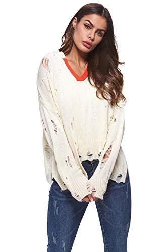women s long sleeve v neck split
