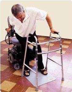 Dycem Fall Prevention Mat Dycem Non-Slip Floor Mat by Rolyn Prest