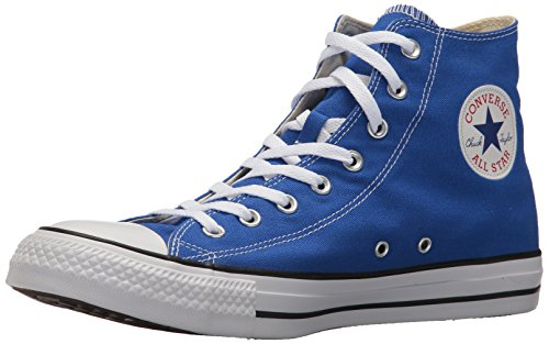 Converse Chuck Taylor All Star Seasonal Canvas High Top Sneaker, Hyper Royal, 5.5 US Men/7.5 US Women