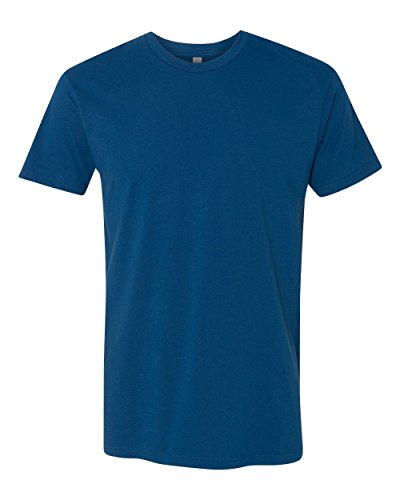 Next Level Apparel 3600 Mens Premium Fitted Short-Sleeve Crew T-Shirt, Cool Blue, (Cool Fitted T-shirt)