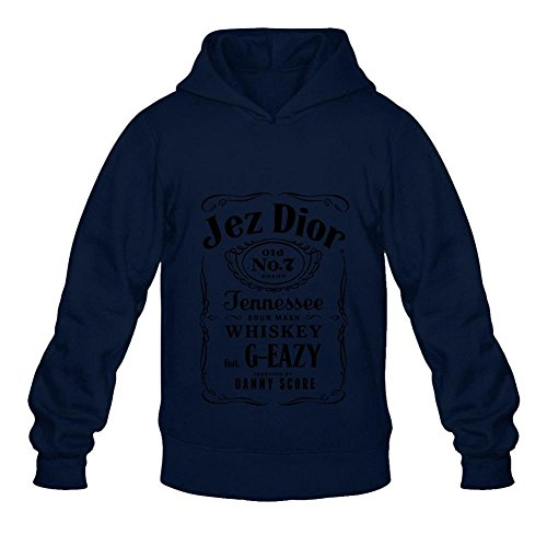 AiK G-Eazy Jez Dior Old 7 Poster Men's Hoodies Pullover - Grey Dior