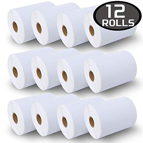 12 Rolls Dymo 1744907 Compatible 4XL Internet Postage Extra-Large 4