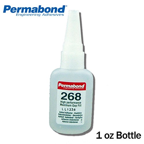 1oz 10-pack+asc10 Permabond 200 Instant Adhesive-fast Set Thick Gap Filling Pure White And Translucent