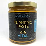 Turmeric Paste for Golden Milk, Turmeric Tea and Golden Lattes, Anti-Inflammatory,Made with Organic Ingredients Including Black Pepper for Better Absorption, 100% Natural For Sale
