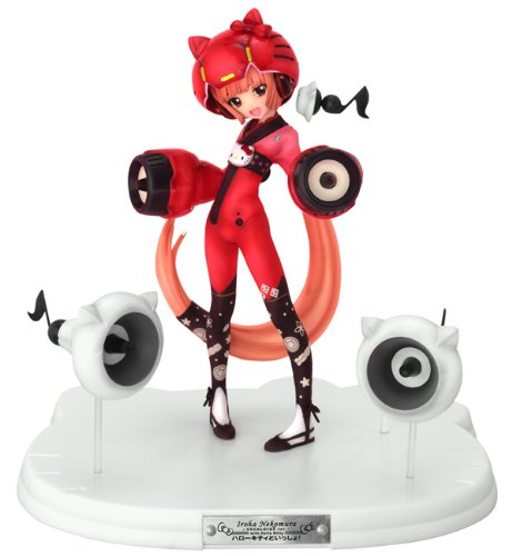Griffon Enterprises - Vocaloid 2 statuette PVC Iroha Nekomura Ver. with Hello Kitty 18