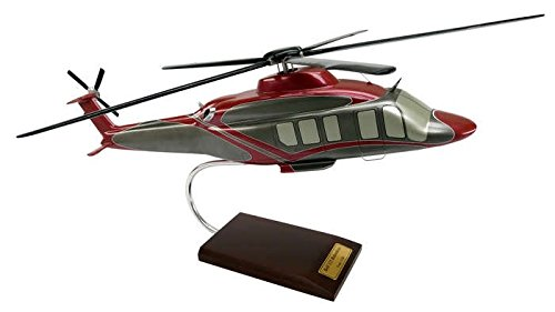 Executive Series Models Bell 525 Relentless Helicopter (1/30 Scale)