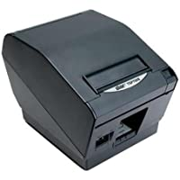 Star Micronics 39442210 Model TSP743IIC-24 GRY Thermal Printer, Friction, Cutter, Parallel, Without Power Supply, Gray