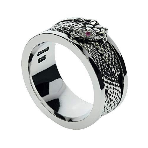 Snake Charmer Outfit - Snake Charmer Sterling Silver Mens Ring