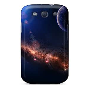 Hot Snap-on Around The World Space Hard Cover Case/ Protective Case For Galaxy S3