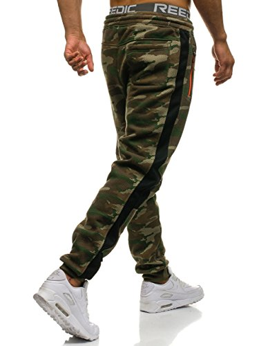 Pantalones Jogger BOLF Hombre 3782b Entrenamiento 6F6 Multicolor Deporte Fitness Motivo Mix XEq4wTq