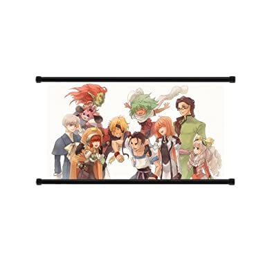 Xenogears Game Fabric Wall Scroll Poster (32  x 17 ) Inches