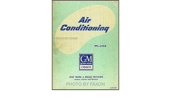 1953-1960 GMC PD-4104 Bus Air Conditioning Repair Shop