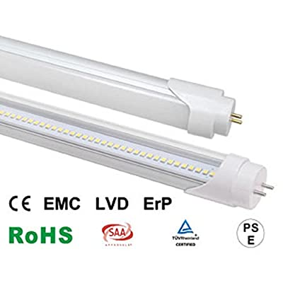 Office Supply Wholesale, 18W 4ft T8 LED Tube Lights, 45w Fluorescent Tube Replacement, UL and DLC Certified, Soft White 3000k