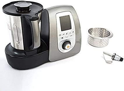 CECO Mix Mix Plus 4010 Robot de cocina multifunción de 3,3 L 1500 W – 11 dispositivos en un – con Pantalla Táctil – 16 programas: Batir, dünnflüssige sopa, dickflüssige sopa, trocear,