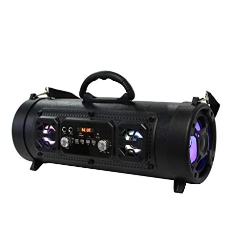 Stylish and practical Outdoor Portable Bluetooth Speaker Subwoofer MultiFunction Card Microphone Sound Barrel CZYCO(B)