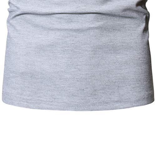 YKARITIANNA - Blusa de manga corta para hombre, diseño de Henry ...