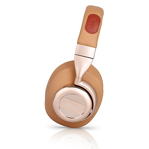 6575ec0b0de BÖHM Wireless Bluetooth Over Ear Cushioned Headphones with Active Noise  Cancelling – B76 | Noise Cancelling Headphone