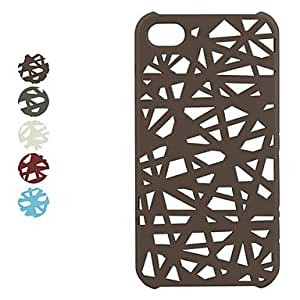 LCJ Bird's Nest Snap Case for iPhone 4 / 4S , Brown
