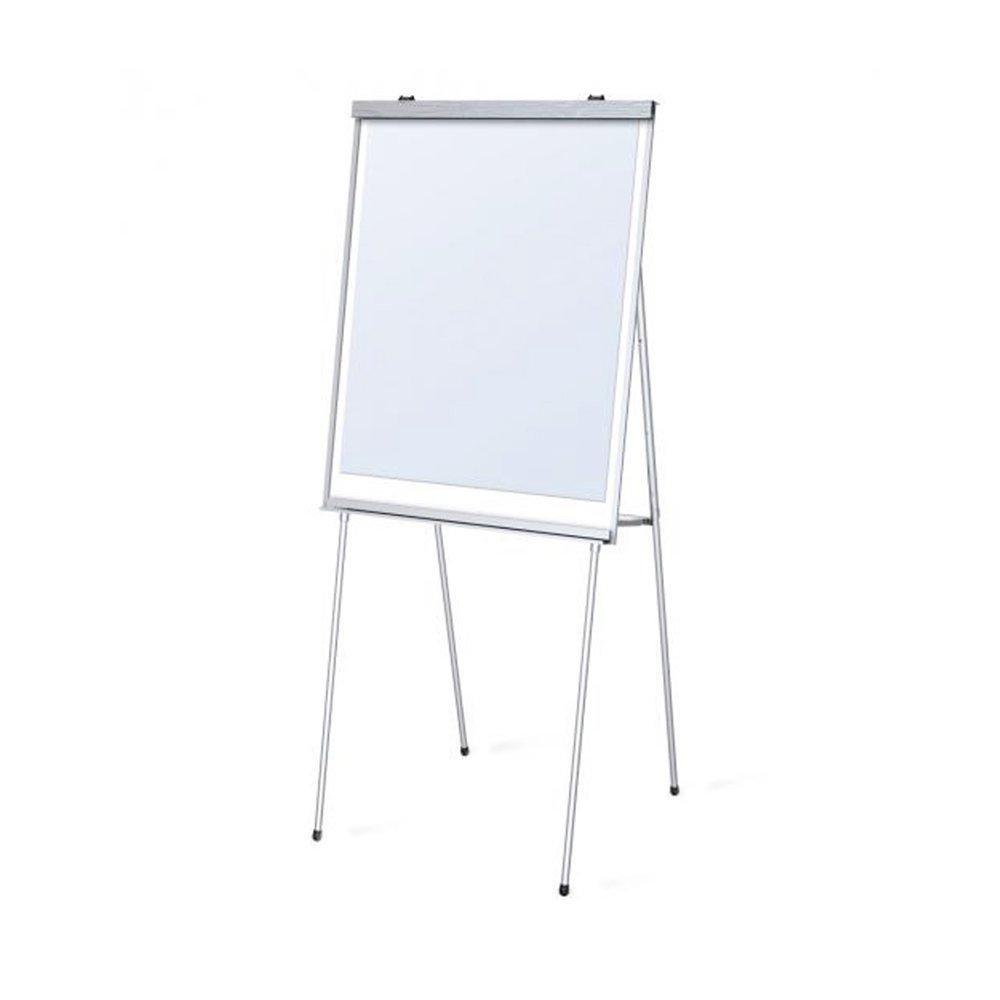 Testrite Visual Portable Presentation White Markerboard Easel
