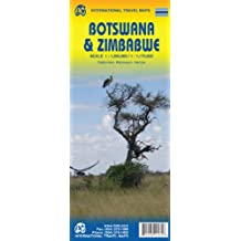 BOTSWANA AND ZIMBABWE, TRAVEL MAPS