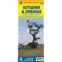 BOTSWANA AND ZIMBABWE, TRAVEL MAPS