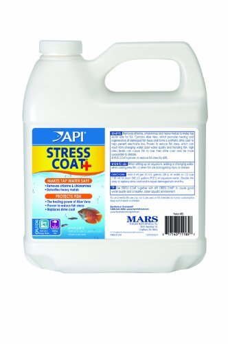 API Stress Coat Freshwater Aquarium Water Conditioner, 64 fl. oz.
