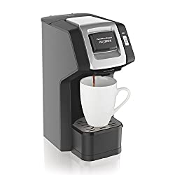 Hamilton Beach FlexBrew Single-Serve Coffee Maker for K-Cups and Ground Coffee with Adjustable Brew Strength (49979) by Hamilton Beach