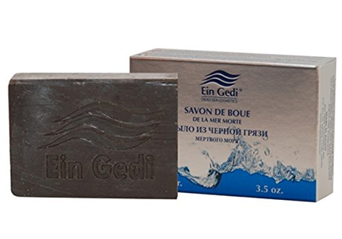 Dead Sea Mineral Oasis Black mud soap 100 gr. 3.5 - Gedi Dead Sea Ein