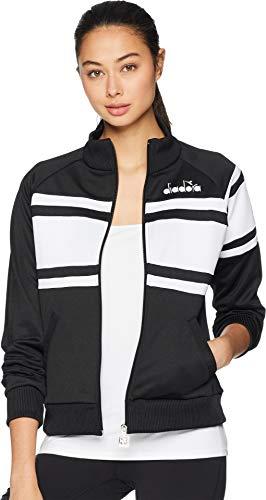 Diadora Womens Jacket - Diadora Women's 80s Jacket Black/White Medium