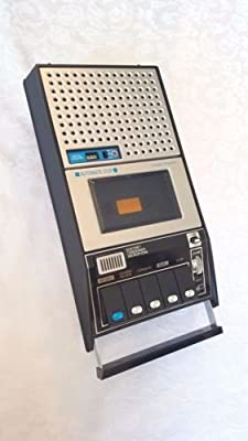 Vintage GE 3-5140A Standard Cassette Tape Recorder from GE 3-5140A